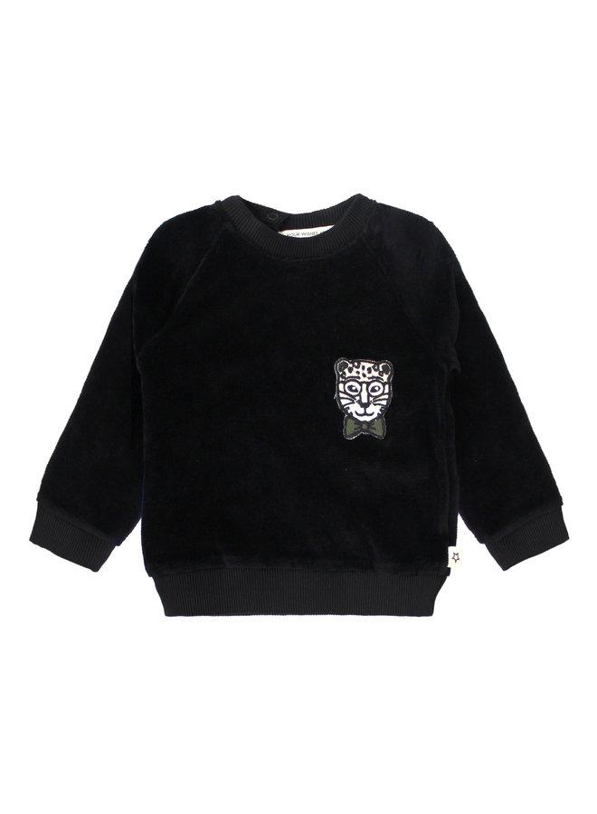 Dark Night - Sweater - Black
