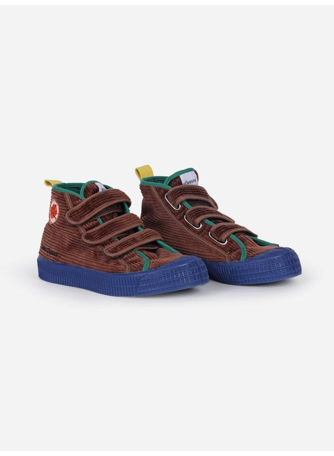 Bobo Choses - Cat Novesta Velcro Sneakers