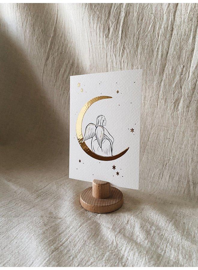 Christmas Cards - Moon Angel