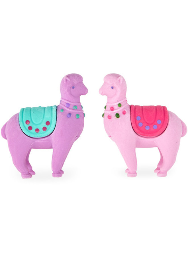 Lovely Llamas Scented Erasers - Set of 2