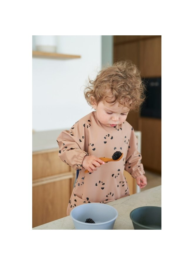 Liva Silicone Spoon 4 Pack - Rose Mix