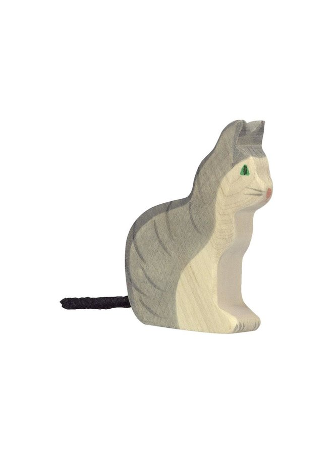 Kat zittend - 8680055