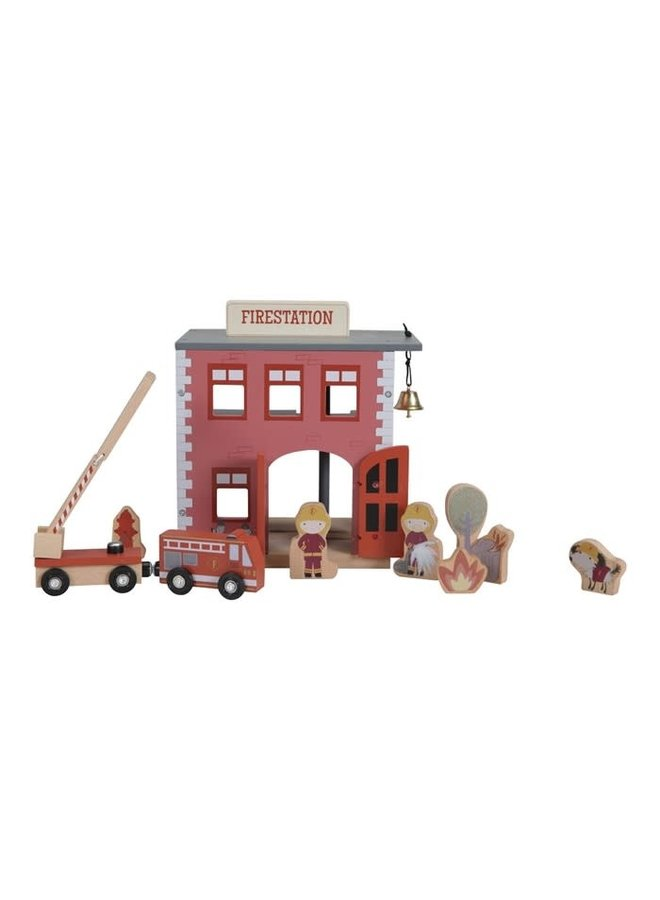 Brandweerkazerne - Treinbaan uitbreiding