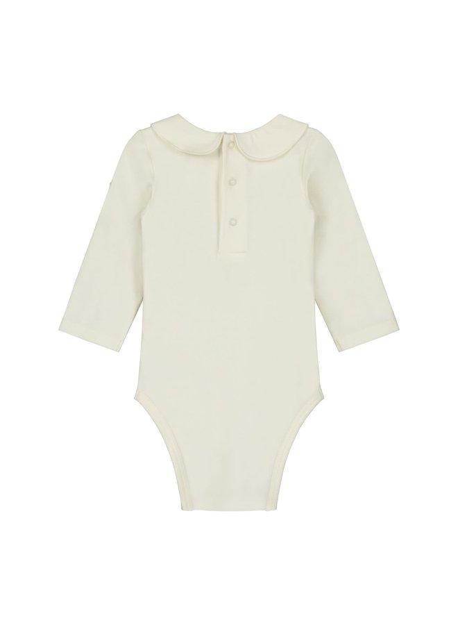 Gray Label - Baby Collar Onesie - Cream