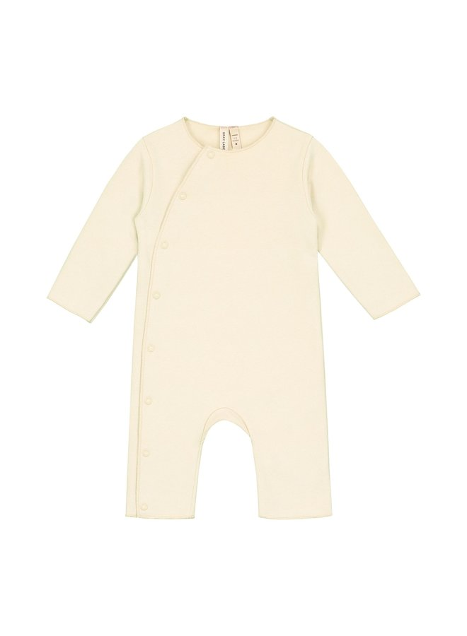 Gray Label - Baby Suit with Snaps - Cream