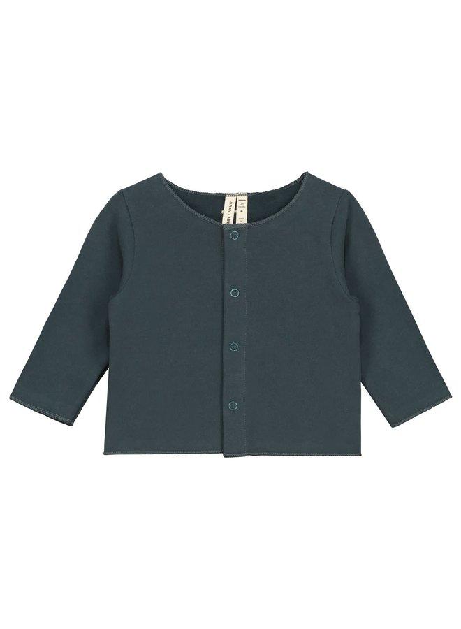 Gray Label - Baby Cardigan - Blue Grey