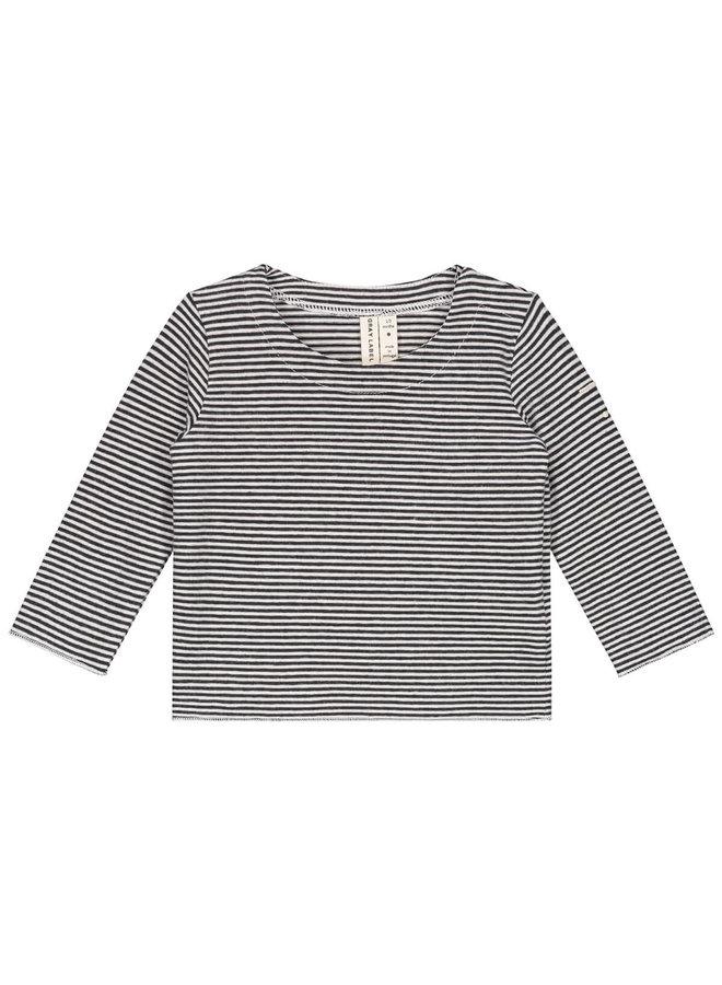 Gray Label - Baby L/S Tee - Nearly Black/Cream