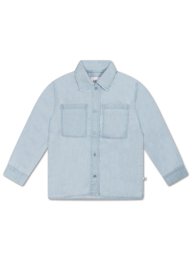 Classic Shirt - Light Washed Blue
