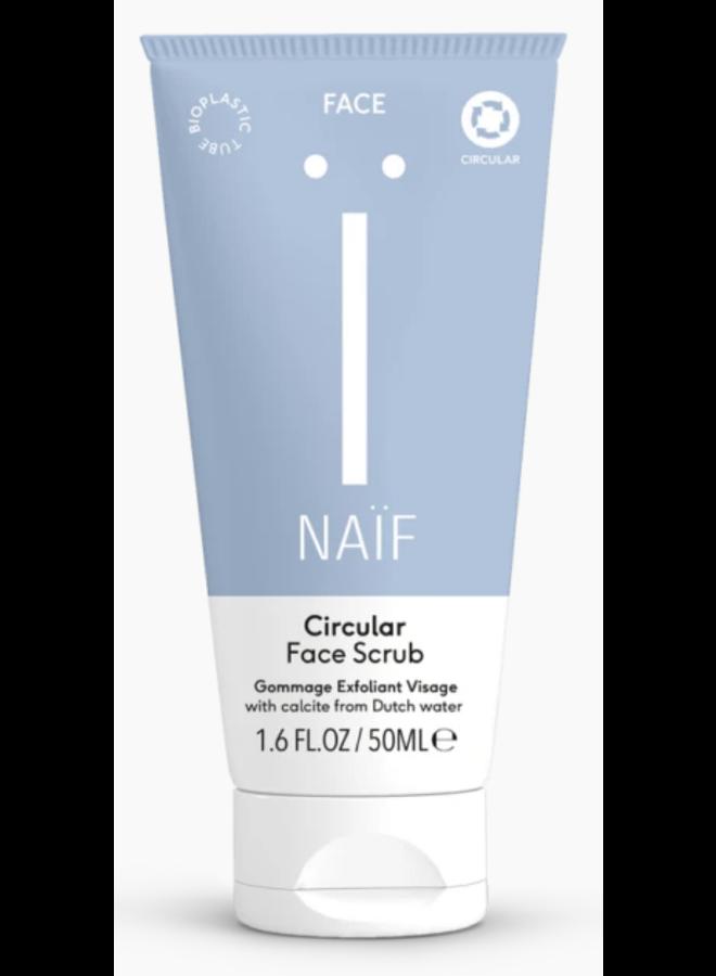 Naif - Circular Face Scrub - Mama