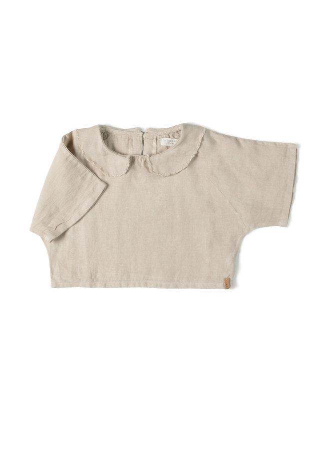 Collar Top - Sand