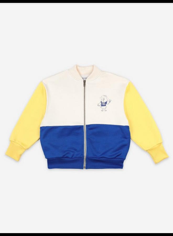 Bird Says Yes Zipped Sweatshirt