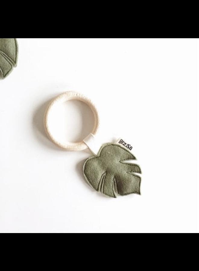 Bijtring - Pistache Green Leaf