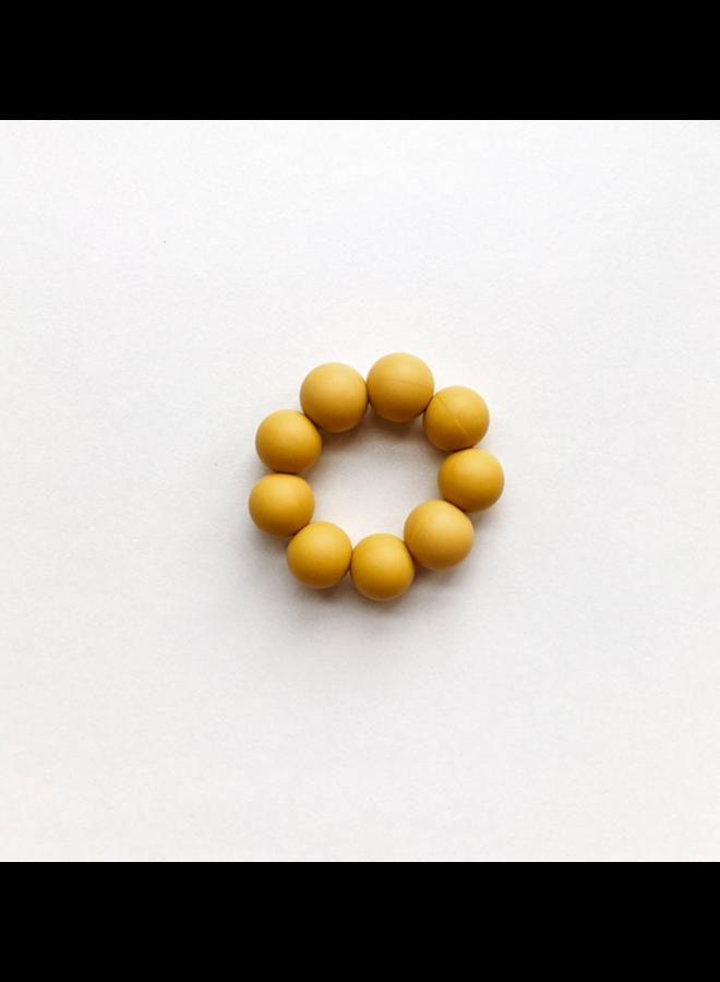 Freezer bijtring - Ocher Yellow