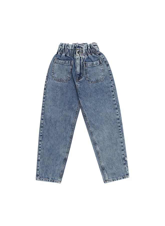 Denim - high waist pants