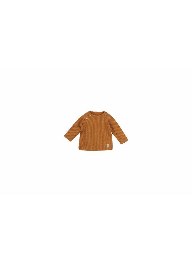 Nanami - Baby Knit Rib Top - Sand