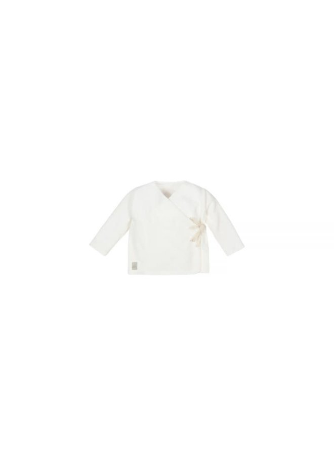 Baby Rib Velvet Top - Off White