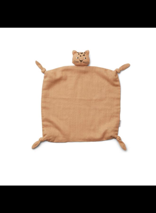 Agnete Cuddle Cloth - Leopard Apricot