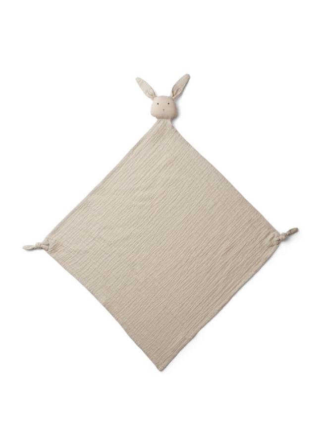 Robbie Multi Muslin Cloth - Rabbit Sandy