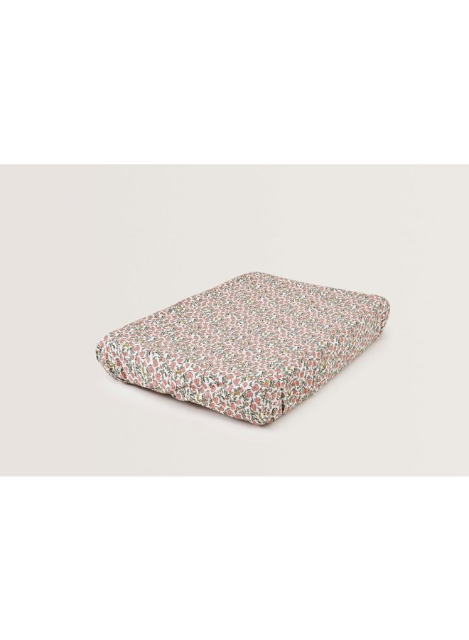 Floral Vine Changing Mat Cover