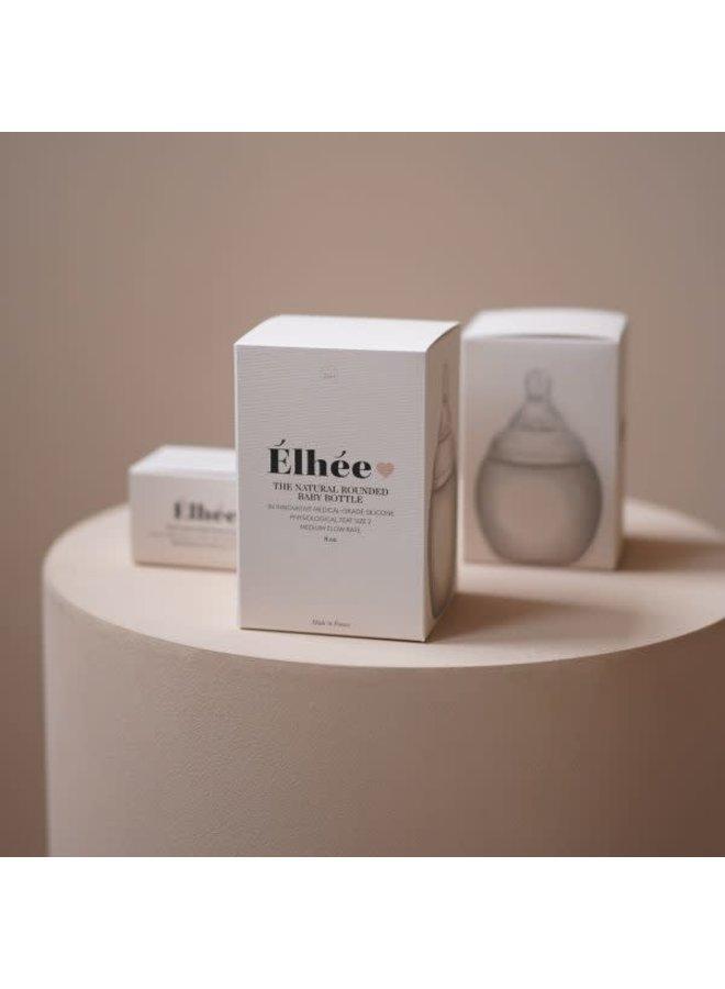Élhée - Baby Bottle - 240 ml - Blue Grey