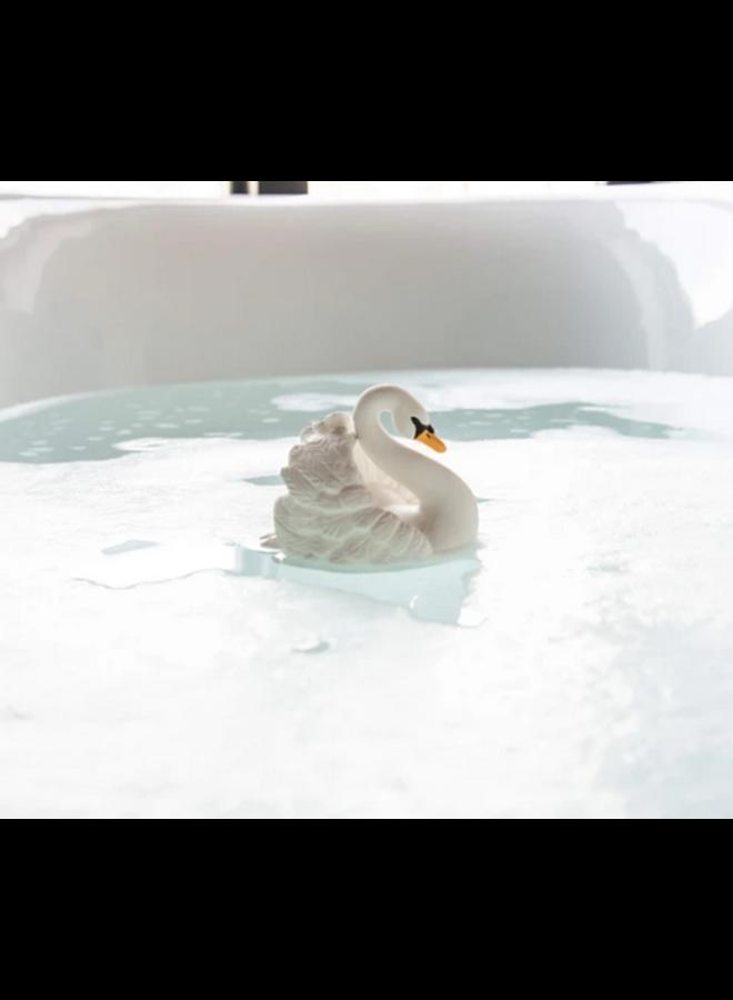Natruba - Bath Swan - White