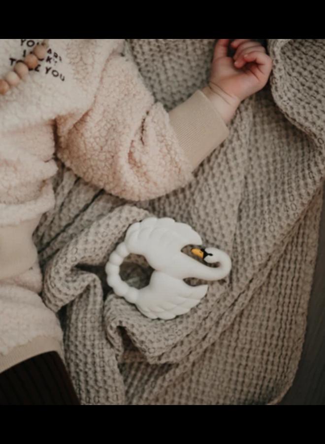 Natruba - Bijtring Swan - White