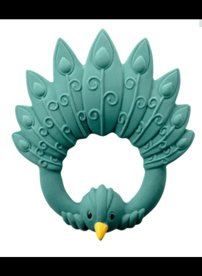 Natruba - Bijtring Peacock - green