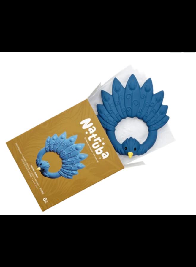 Natruba - Bijtring Peacock - Blue