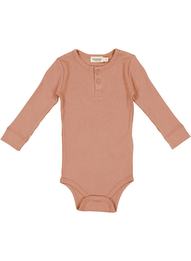 Body LS - Modal - Rose Brown - 0384