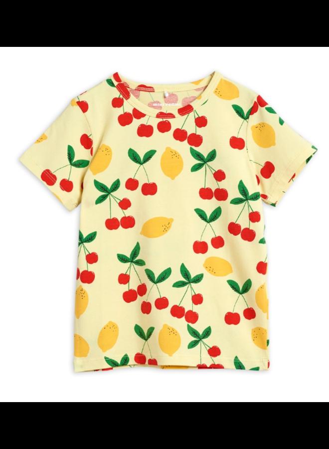 Cherry Lemonade aop Ss Tee - Yellow