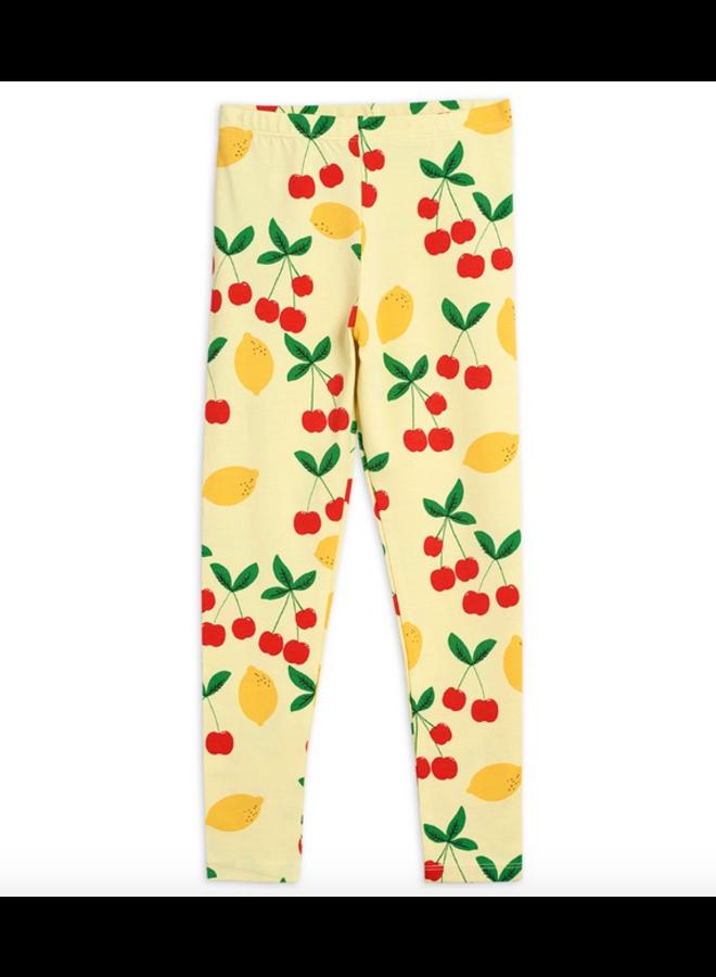 Cherry Lemonade Aop Legging - Yellow