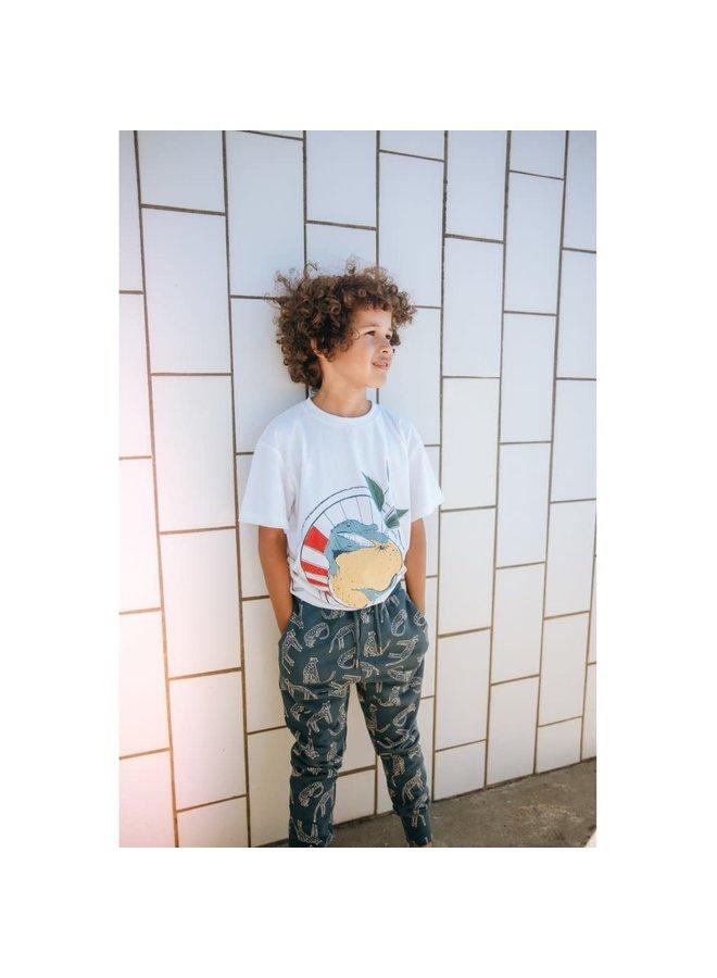 Soft Gallery - Asger - T-shirt - Snow White - Aligator