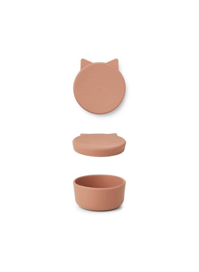 Cornelius Snack Box Medium - Cat Tuscany Rose