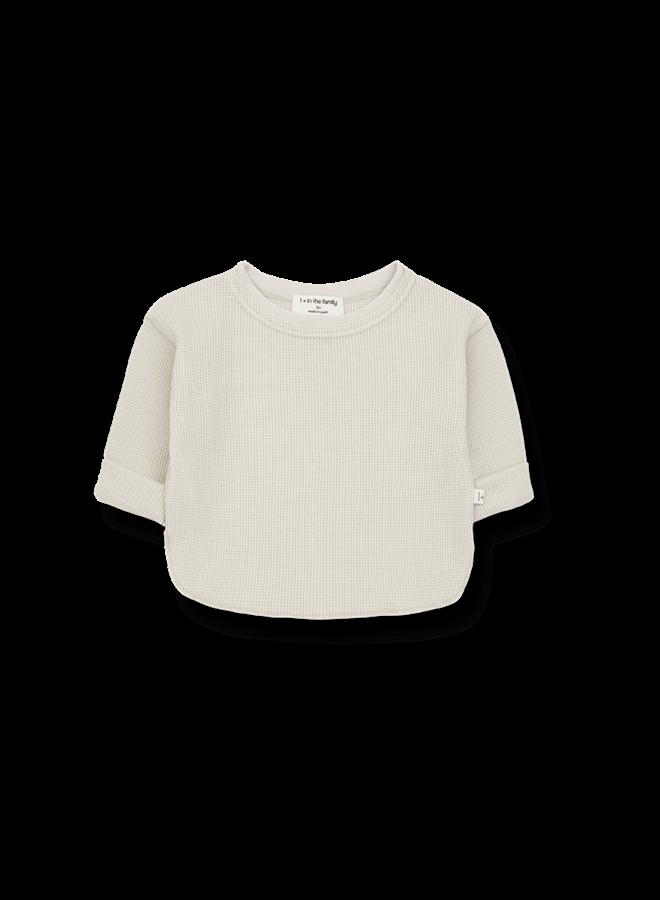 Alma - Long Sleeve T-shirt - Stone