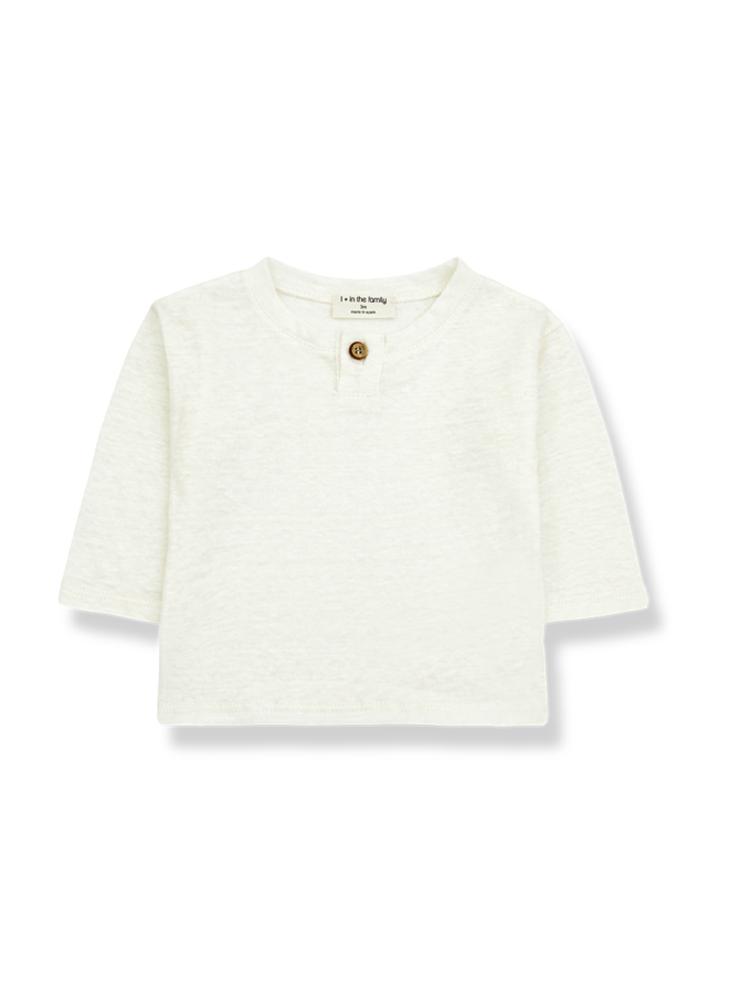 Angel - Long Sleeve T-shirt - Ecru