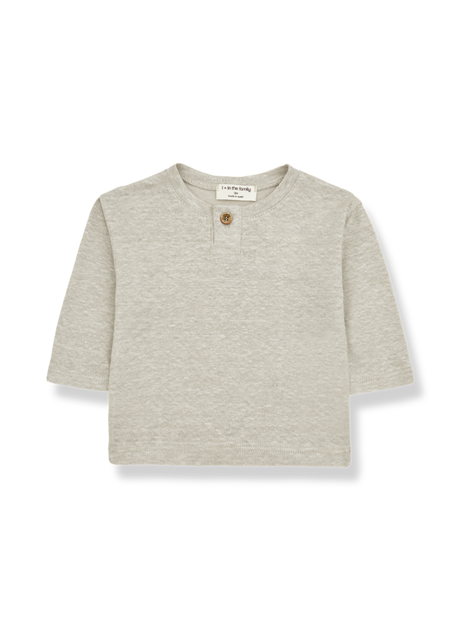 1+ in the family - Angel - Long Sleeve T-shirt - Beige