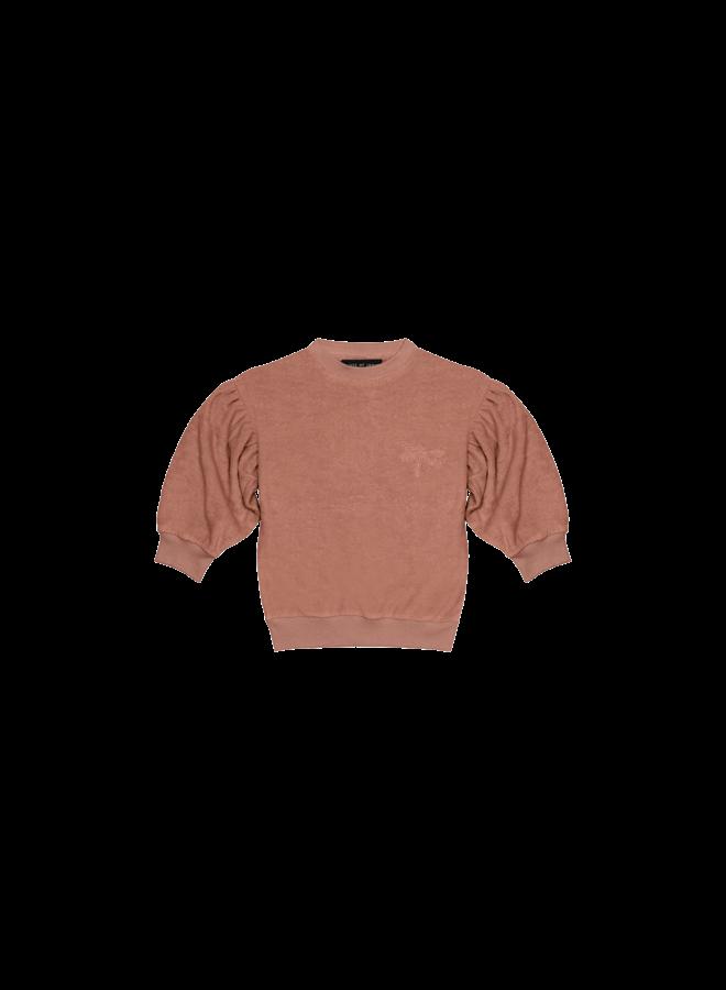 Balloon Sweater - Baked Clay