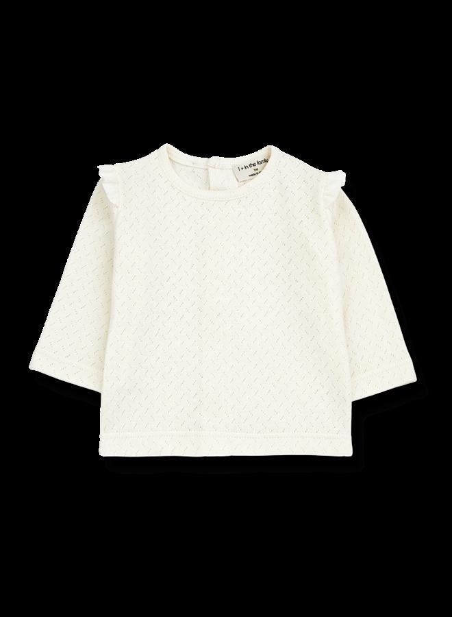 Adelle - T-shirt - Ecru