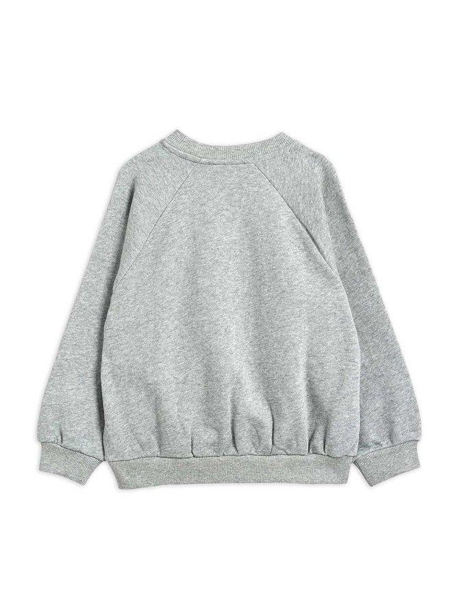 Cat And Panda Sp Sweatshirt - Grey Melange