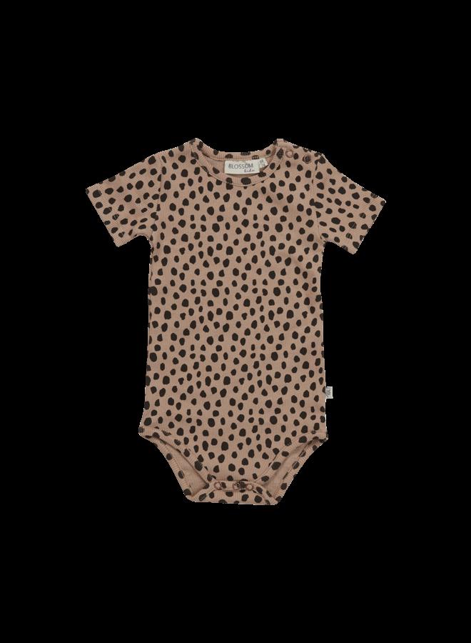 Blossom Kids- Body short sleeve - Animal Dot