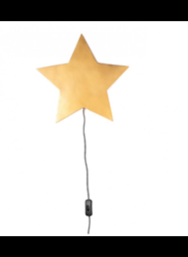 Barbe Wandlamp Ster - Goud