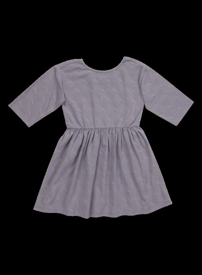Dress half sleeve - Shelves - Lavender Gray