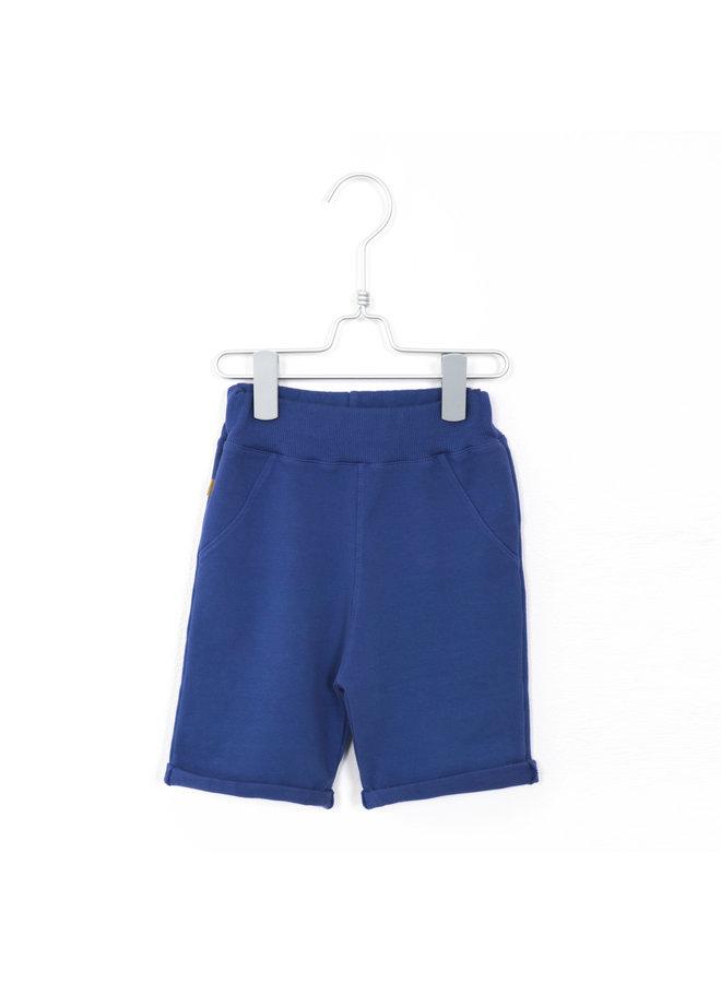 Bermuda Shorts Solid - Indigo Blue