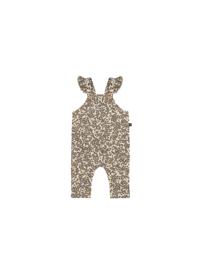 House of Jamie - Baby Girls Dungaree - Apple Cider Blossom