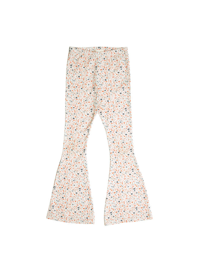 Bowie Flared Pants - Floral Print