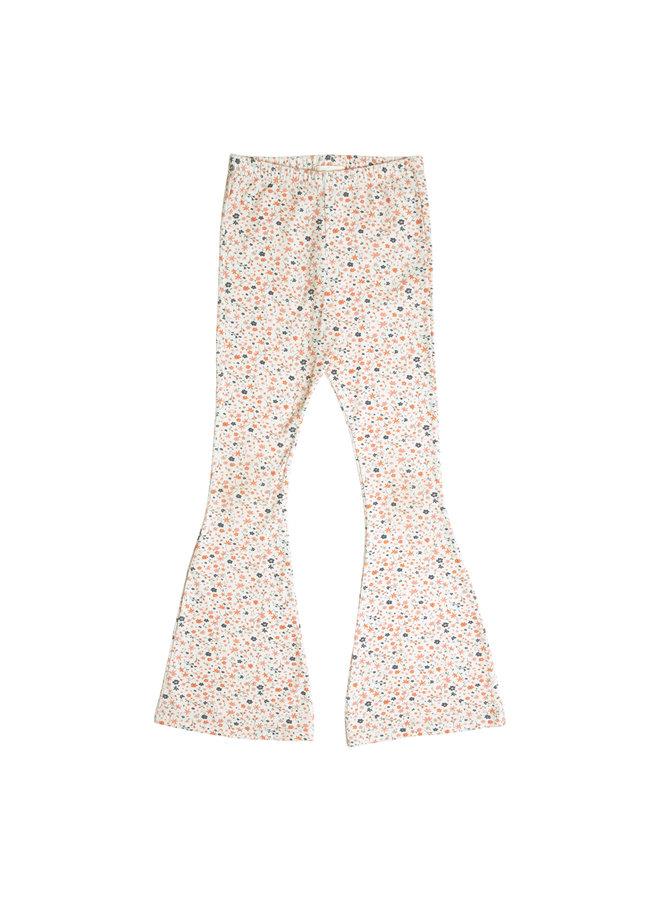Petit Blush - Bowie Flared Pants - Floral Print