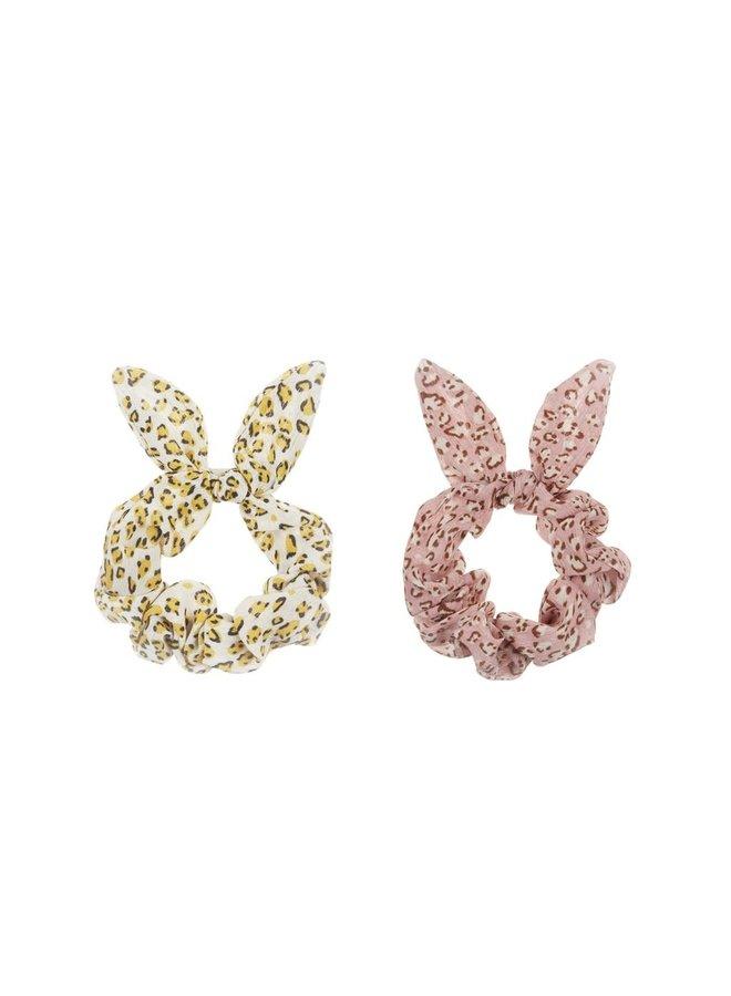 Bunny scrunchies