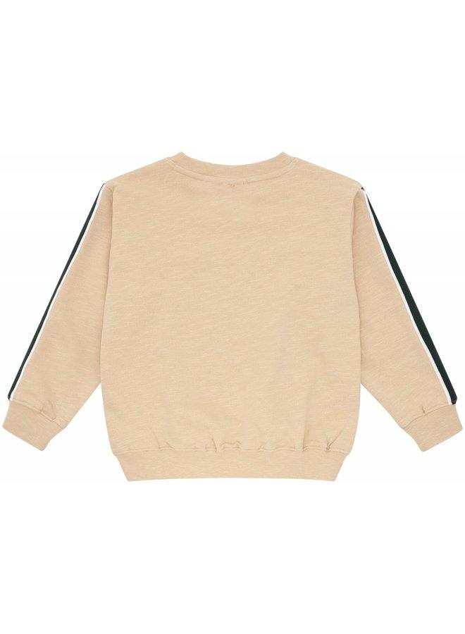 Soft Gallery - Baptiste - Sweatshirt - Beige - Crocoskate