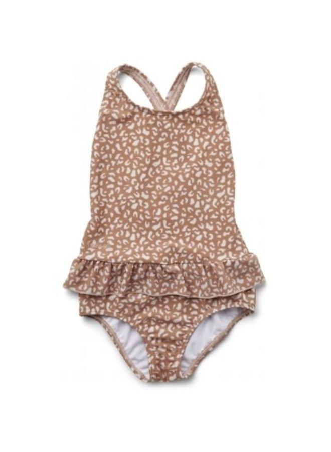 Amara Swimsuit - Mini Leo Tuscany Rose