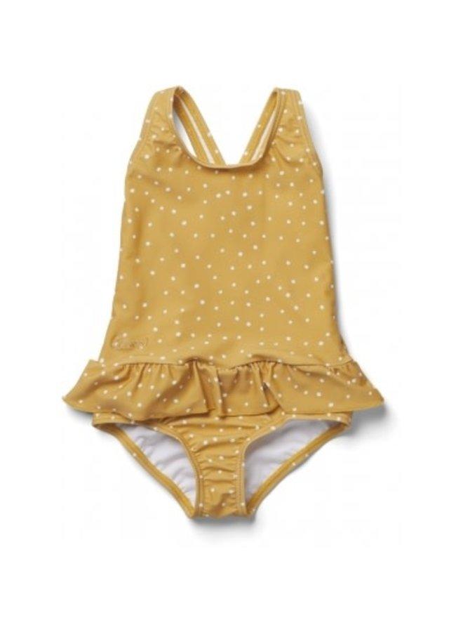 Amara Swimsuit - Confetti Yellow Mellow Mix